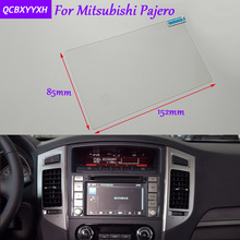 Car Sticker 7InchGPS Navigation Screen Glass Protective Film For Mitsubishi Pajero Accessories Control of LCD Screen Car Styling
