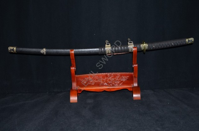 Japanese Samurai Battle Ready Sword Handmade Damascus Folded Steel Steel Katana