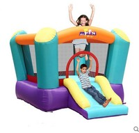 Free Shipping Toy Inflatable Trampoline Home Trampoline Millenum Slide