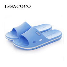 ISSACOCO 2018 Shoes Woman Sandals Slippers High Quality Soft Home Solid Beach Bathroom Zapatillas Pantufa