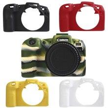Meilleure qualité en caoutchouc silicone boîtier corps couverture protecteur cadre peau pour Canon EOS RP caméra douce