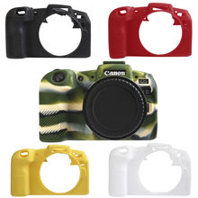 Melhor qualidade de borracha silicone caso capa do corpo protetor moldura da pele para canon eos rp câmera macia