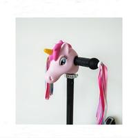xiaomi m365 Scooter Decoration xiaomi mijia m365 Cute Kid Pink Hippo Unicorn Colorful Ribbon Streamers Tassels ninebot es2