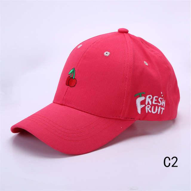 baac1fc6a39a2 Online Shop LongKeeper Lovely Ladies  Baseball Cap Women Cotton Snapback Caps  Girls Casual Hat Pink Yellow Orange Red gorras beisbol MYW63