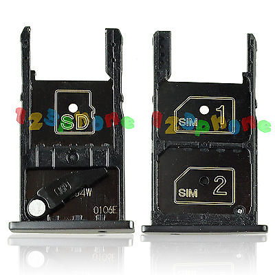 1 SET SD + DUAL SIM CARD SLOT TRAY HOLDER PARTS FOR MOTOROLA MOTO X PLAY XT1562 ...