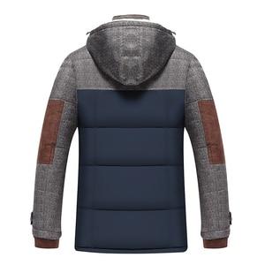 Image 3 - Marke Winter Jacke Männer Mode M 5XL Neue Ankunft Beiläufige Dünne Baumwolle Dicke Herren Mantel Parkas Mit Kapuze Warme Casaco Masculino