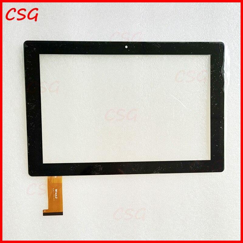 Nouveau 10.1 pouce Digitizer Écran Tactile Panneau en verre Pour Irbis TW77 WJ907-FPC V3.0 Tablet PC