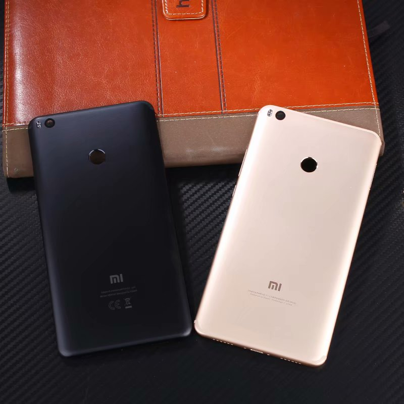 Max2 Original Case For Xiami Mi Max 2 Housing Metal Battery Smart Phone Door Back Replacement Cover