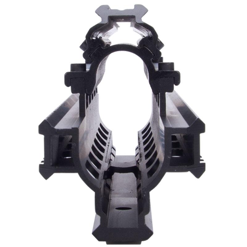 Saiga 12 Shotgun Tactical Quad Rail A través del alcance Montaje de - Caza - foto 5
