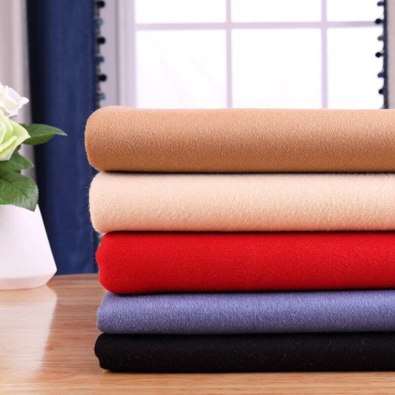 70% laine double face cachemire laine tissu épaississement automne et hiver manteau fabrics-800gsm