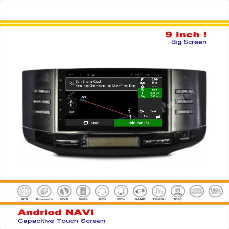 Coche Android Sistema de Navegación GPS Navi Para Toyota Mark X Reiz 2005 ~ 2009