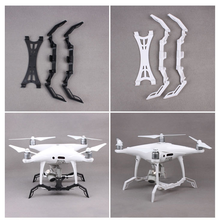 DJI Phantom 4 Pro Landing Gear Kits Landing Leg Tripod Increased Height Extension Gimbal Guard Camera Protective Board Accessory