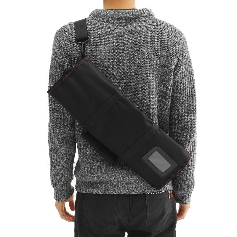 Chef cuchillo bolsa rollo bolsa 12 bolsillo negro cocina accesorios paquete apto para cuchillo más largo llevar funda portátil Chef rollo bolsa