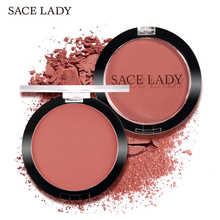 SACE LADY Face Blush Makeup Long Lasting Pigmented Rouge Cosmetic Matte Natural Glow Powder Baked Cheek Make Up Blusher Cosmetic