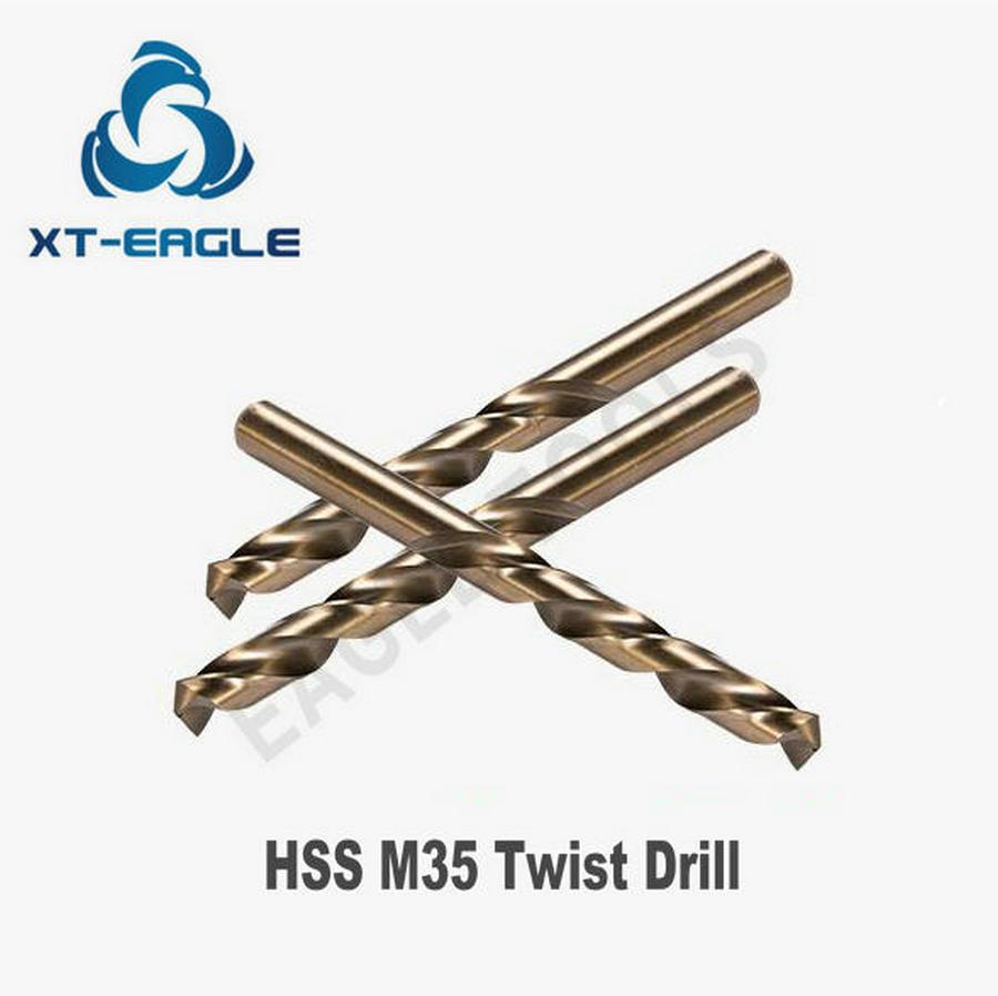 5pcs of 11 1mm 11 2mm 11 3mm 11 4mm 11 5mm HSS M35 Twist Drills