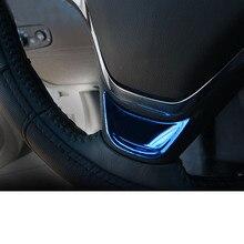 Lsrtw2017 Stainless Steel Car Steering Wheel Panel Trims for Chevrolet Malibu XL 2012 2013 2014 2015 2016 2017 2018 2019 2020 цена