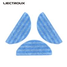 (ForC30B) Liectroux Original Mop for Robot Vacuum Cleaner C30B, 3pcs/pack