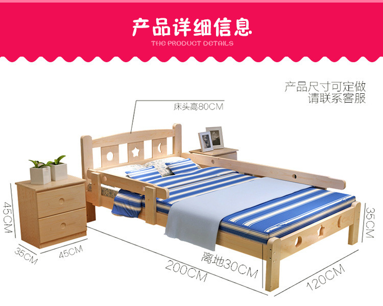 Children Beds Kids Furniture Home Furniture Solid Wood Kids Bed With 6 Drawers Lit Enfant Baby Nest Moveis Muebles 160*100*40 Cm Children Beds Furniture