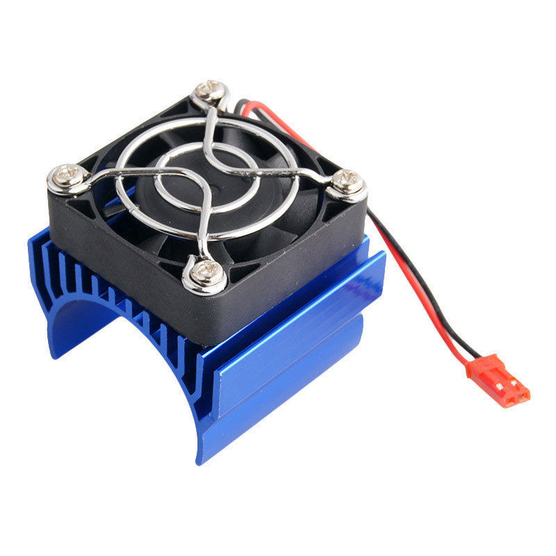 RC Brushless Electric 540 550 Motor Heat Sink Cover + Cooling Fan Heatsink 1/10 For 3650 Size Enngine cnc dc spindle motor 500w 24v 0 629nm air cooling er11 brushless for diy pcb drilling new 1 year warranty free technical support