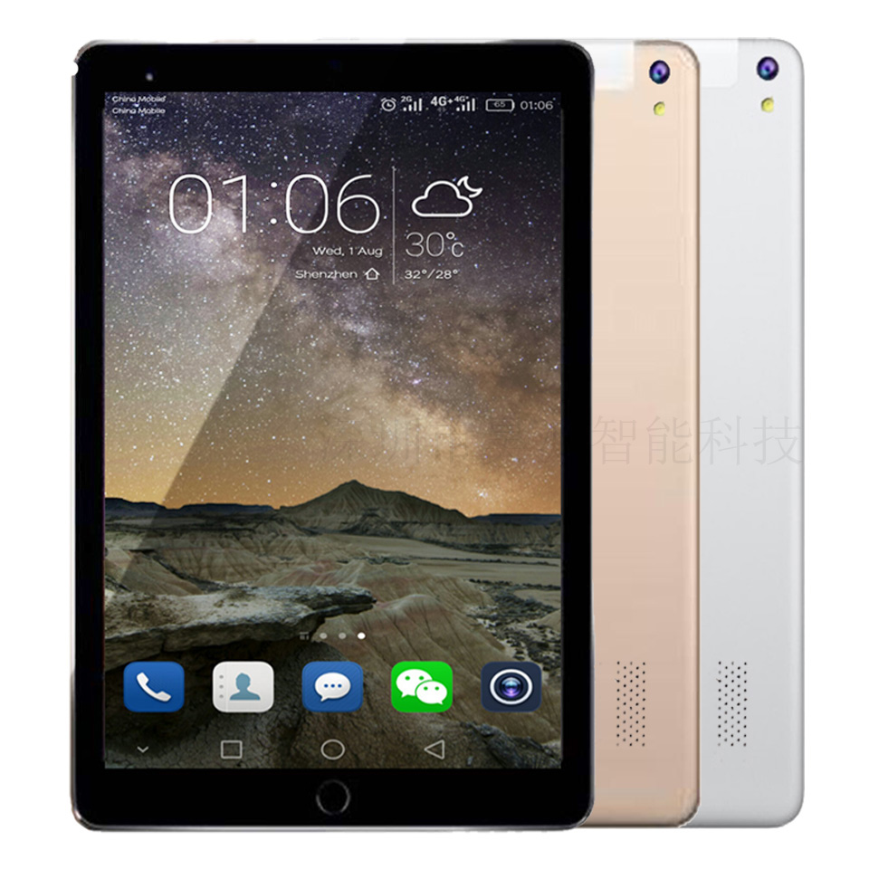 2018 New 3G Tablet PC 9.7 Inch IPS HD Screen Calling Tablets pc 4G tablet Wifi GPS Bluetooth Android Tablet PCs in stock teclast x70r 7 ips screen android 5 1sofia x3 c3230 64 bits 8gb 3g phone tablet wcdma tablet pcs with gps bluetooth