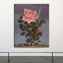 Surrealism Flower Abstract HD Canvas Painting Print Living Room Home Decoration Modern Wall Art Oil Painting Posters Pictures surrealism