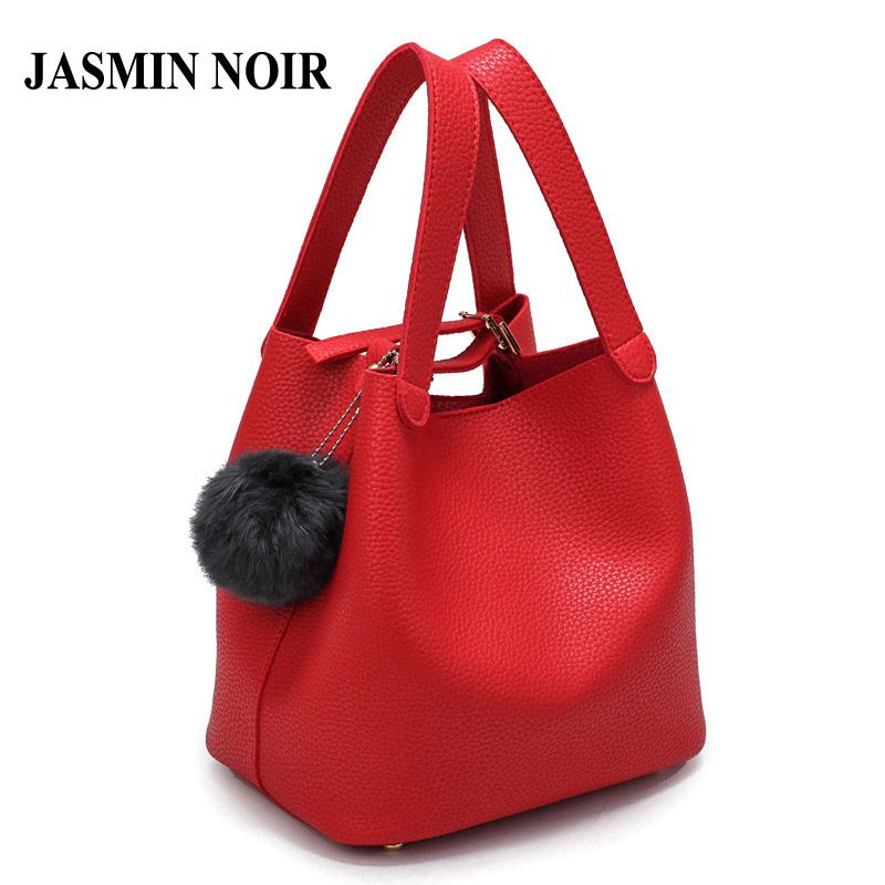 New Arrival Women Solid PU Leather Handbag Casual Style Lady Litchee Pattern Tote Bag High Quality Female Magnetic Snap Buckets 2016 new arrival women fashion solid flower decoration summer female pu style casual shoes ld536169