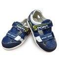 Verano 1 par PU moda Chicos de la Playa zapatos suaves, niño/Bebé Ortopédicos Sandalias de Los Niños, antideslizante Zapato Barato