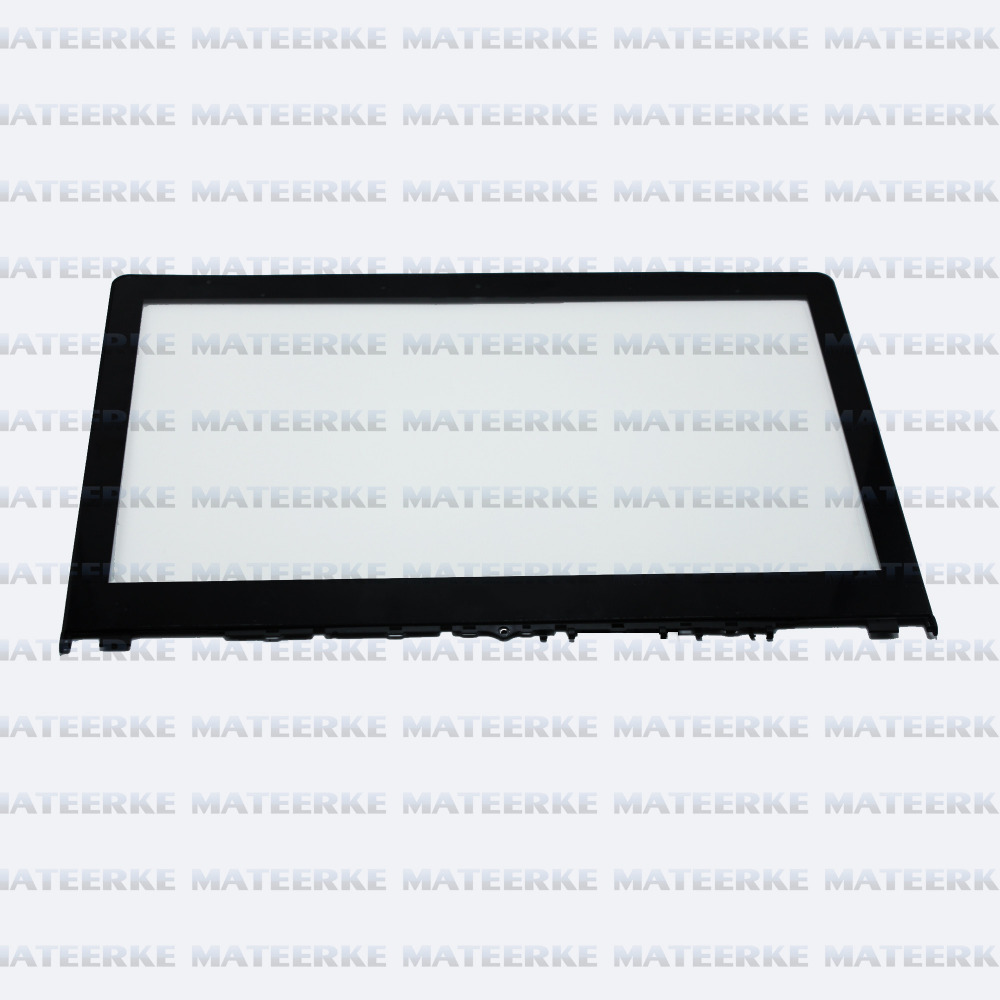 For Lenovo Flex3 14 Flex 3 14 FHD Touchscreen 2-in-1 Notebook Front Touch Glass Screen Digitizer Replacement with Frame Bezel