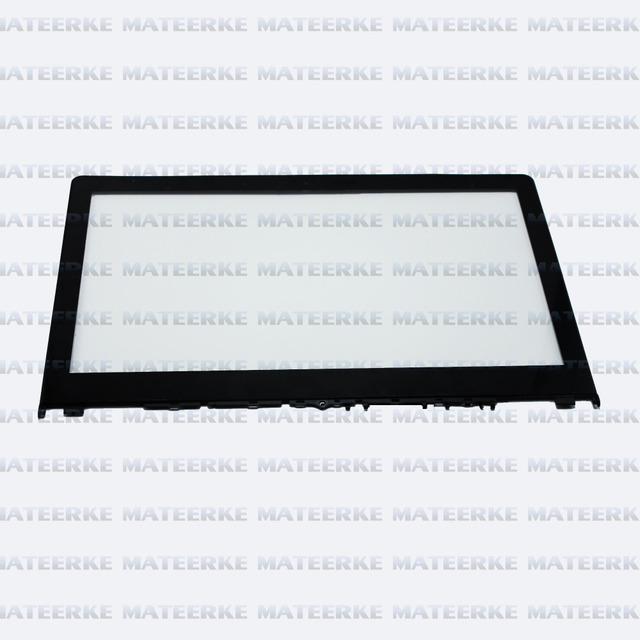 """For Lenovo Flex3 14"""" Flex 3 14 FHD Touchscreen 2-in-1 Notebook Front Touch Glass Screen Digitizer Replacement with Frame Bezel"""