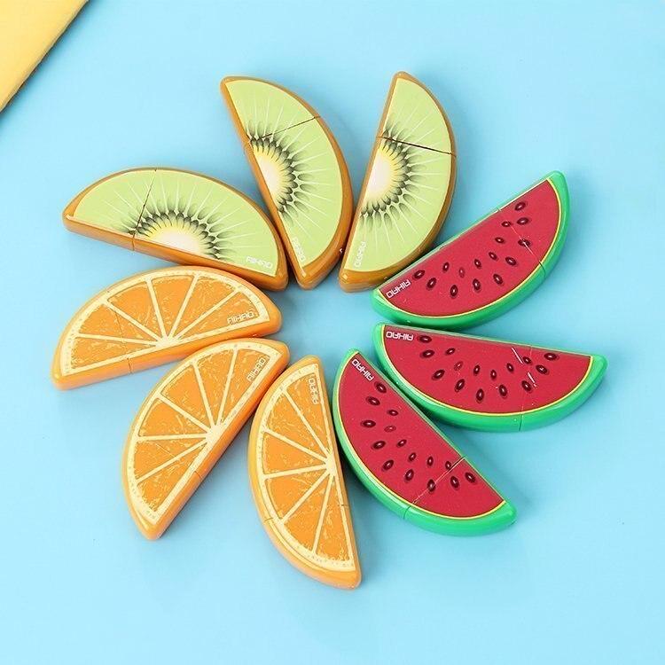 3 PCS Fruit Design Correction Tape Deco Correcting Tapes Cor
