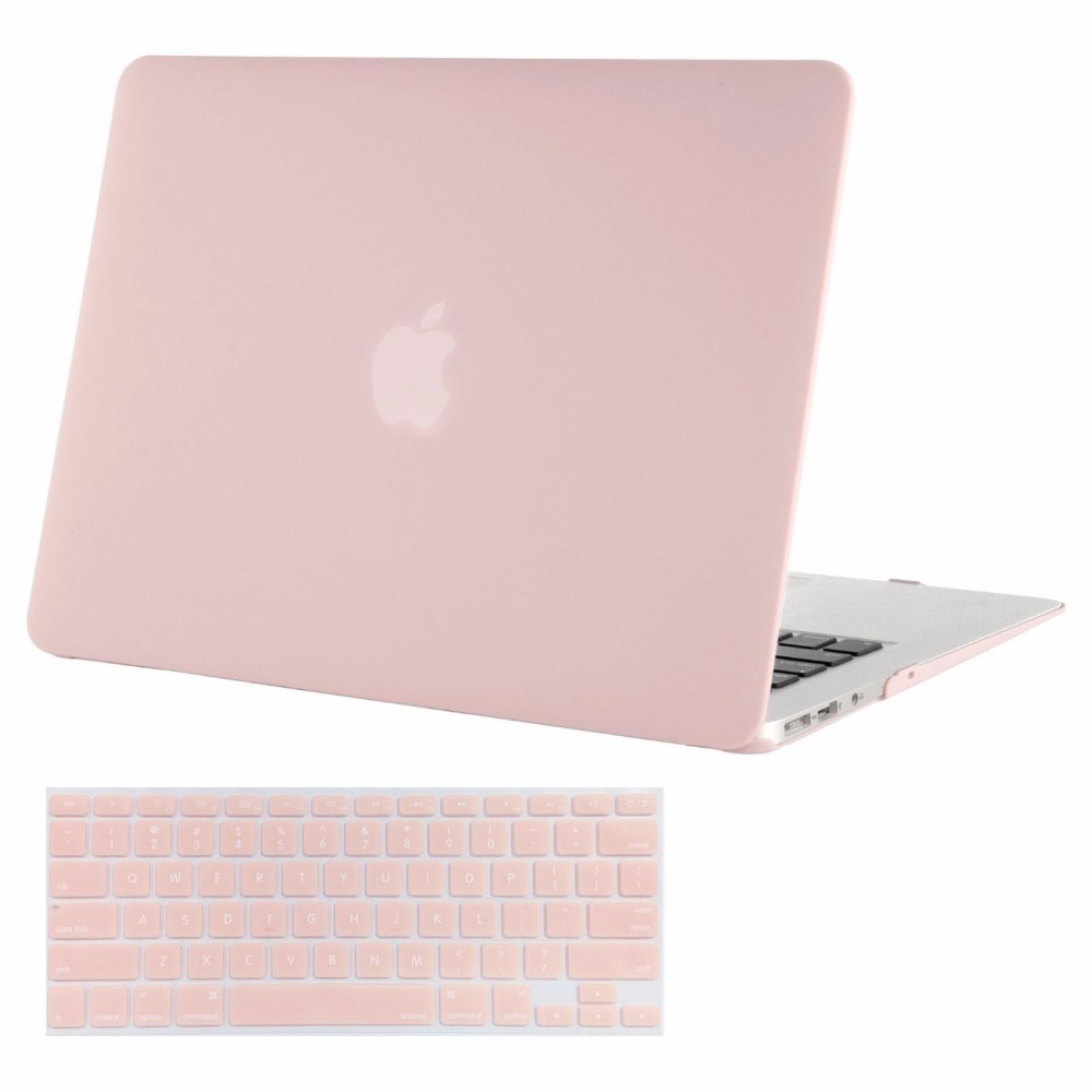 Mosiso Shell Cover Case for Macbook Air 13 2018 2017 2016 2015 2014 2013 Model A1369 / A1466 + Silicone Keyboard Cover mosiso hard shell case for macbook air 11 inch a1370 a1465 laptop protective cover for macbook air 13 13 3 inch a1466 a1369