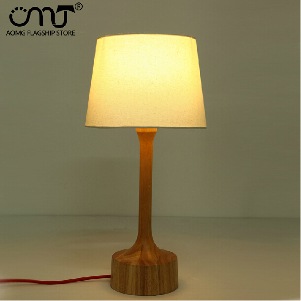 Здесь можно купить  Free Shipping Fabric Shade And base Wood Modern Restaurant Table lamp E27 110/220V study desk table light bedside table lamp Free Shipping Fabric Shade And base Wood Modern Restaurant Table lamp E27 110/220V study desk table light bedside table lamp Строительство и Недвижимость