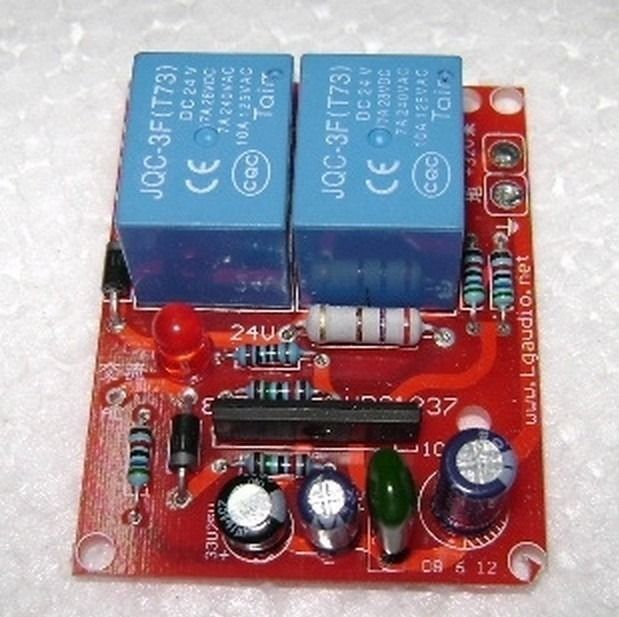 UPC 1237 Speaker Protective Circuit for LM3886 Amplifier