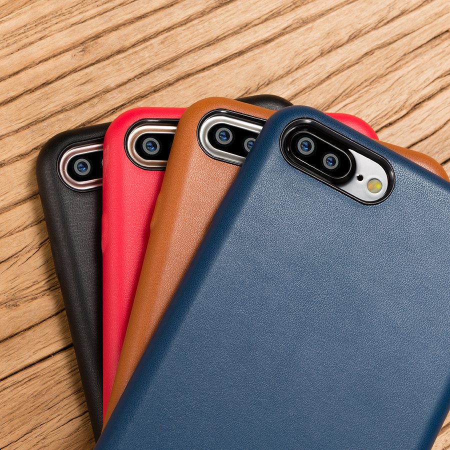 MyGeek Cas De Luxe PU Étui En Cuir pour iphone 6 6 s 7 7 Plus 8 X Mobile Couverture de Téléphone