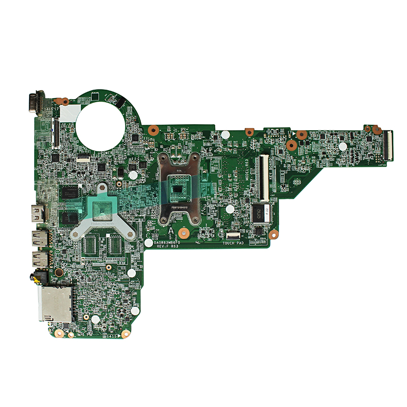 For HP 17-E 14-E 15-E laptop motherboard HD8670 1G GPU DDR3L HM86 713256-501 713256-601 713256-001 DA0R63MB6F0 fully Tested 1