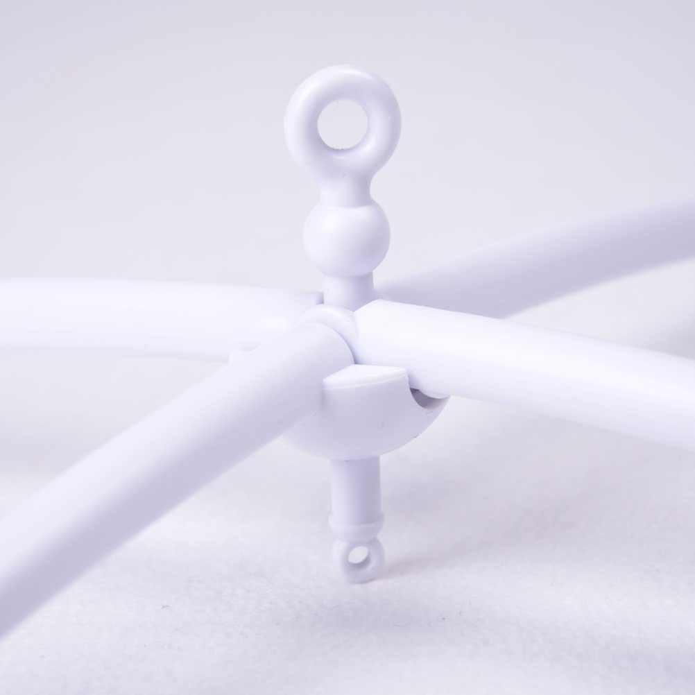 Новая детская коляска аксессуары белый мобиль на кроватку набор Детская кроватка крутящиеся колокольчики на кровать Держатель с опорой для подвешивания музыкальная шкатулка игрушка