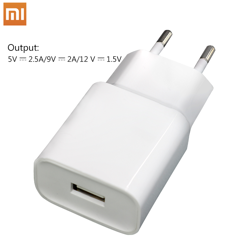 XIAOMI Original  Charger EU Plug QC3.0 Fast Adapter 5V 2.5A/9V 2A,Type C Cable For Mi 6 A1 pro 4X 5X 5C 5S plus Note 2 3