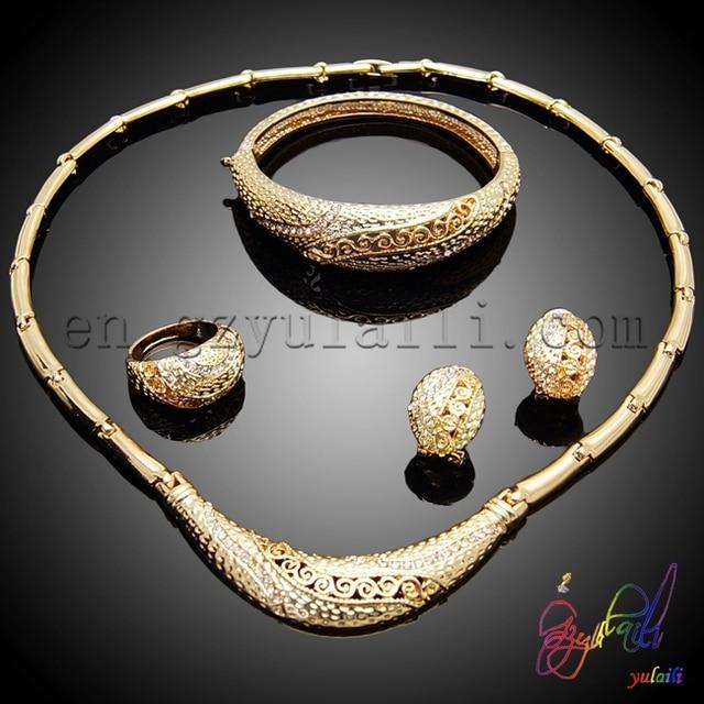 9f11168aa0e6 Fashion dubai gold jewelry set 22k gold jewellery dubai wholesale jewelry  set price gold moroccan wedding jewelry