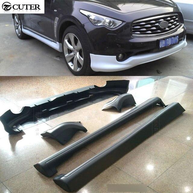 Fx35 Pp Black Primer Auto Car Body Kit For Infiniti Fx35 Bumper