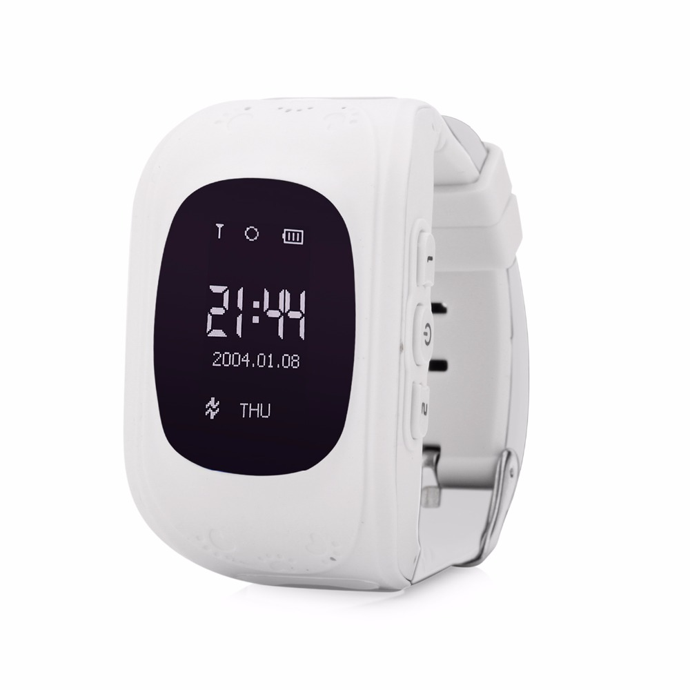Q50 OLED HD Экран смарт-Сейф GPS GSM SOS вызова расположение трекер часы наручные часы для детей ребенок анти- потерянный Мониторы детские