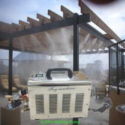 S102 CE 3L/min pompa acqua ad alta pressione nebbia macchina 220 V/110 V 50 hz/60 hz per patio sistema di nebulizzazione e smettere di polvere