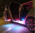Calidad del Hight llevó puerta luz de advertencia con cáscara para VW Golf 6 GTI JETTA MK5 MK6 CC Tiguan Passat b6, 4 unids/set