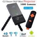 Proyector LED Full HD 1080 P 1000 lúmenes 16 GB DLP Inteligente bolsillo Mini Proyector Multimedia Player Para android TV Video Casero teatro