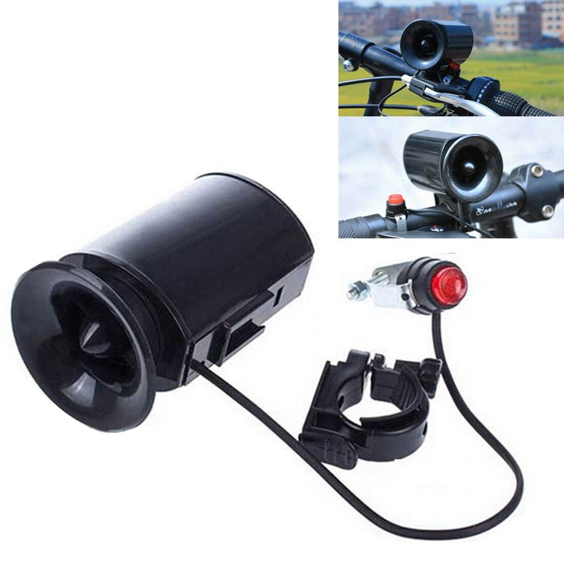 6-sound Bike Bicycle Electronic Siren Bell Horn Super-Loud Alarm Speaker x1