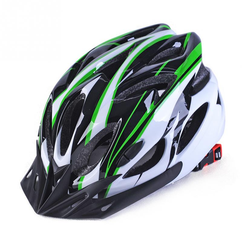 Riding Helmet Cycling Bicycle Road Bike One-piece Male Female Mountain Bike Helmet Bicycle Adult Cycling Helmet with Visor #927 image