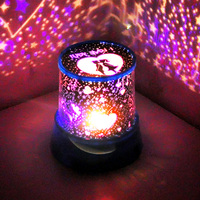 New LED novelty light led night light Gift led Star Projector Lamp lover star master+USB Cable 150905