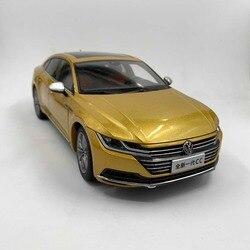 1:18 литая под давлением модель для Volkswagen VW, все новые CC Arteon 2018, игрушечный автомобиль из золотого сплава, миниатюрная Коллекция подарков, Passat ...