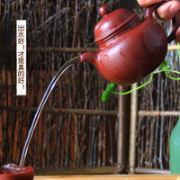 360 drop ball authentic Yixing teapot famous handmade teapot teapot Yixing Dahongpao red clay ore batch