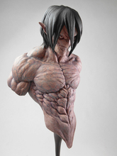 Resin Figure Kit Resin Figure Kit Attack on Titan Eren Bust Unpainted Garage Resin Figure