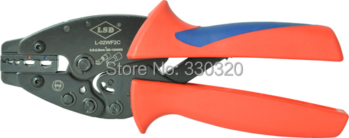 L-02WF2C Hand Crimping Tool for crimping cable ferrules and insulated terminals 0.5-2.5mm2